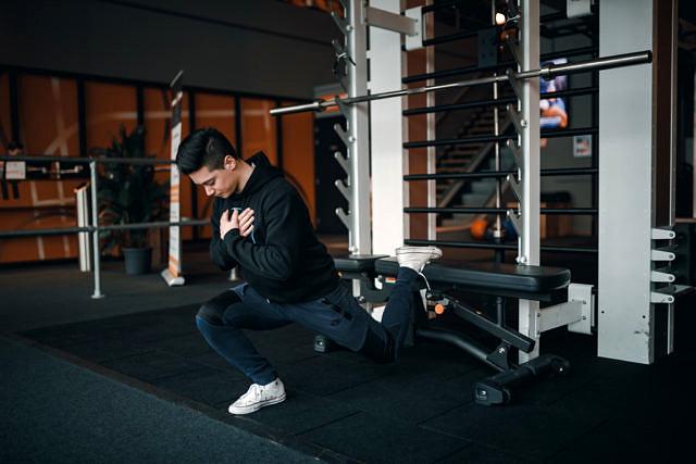 Bulgarian split squat