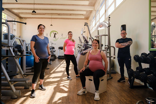 Zwanger Groepsfoto